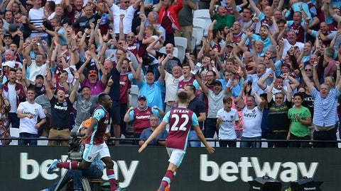 7. West Ham United