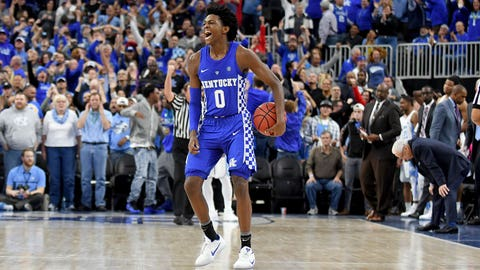 De'Aaron Fox, PG, Kentucky, freshman