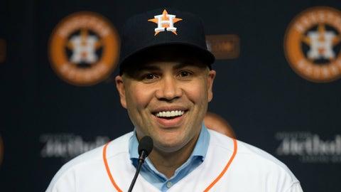 Astros sign Carlos Beltran
