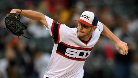 Red Sox aquire Chris Sale from White Sox