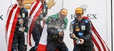 Celebration shots from the Rolex 24