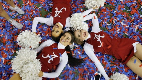 Alabama cheerleaders