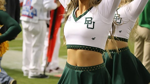 Baylor cheerleaders