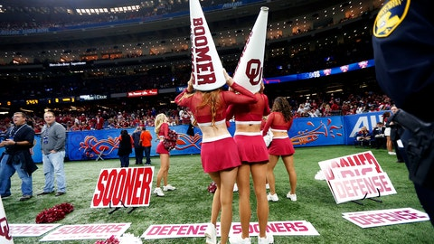 Oklahoma cheerleaders