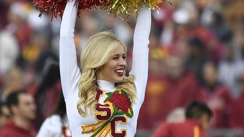 USC cheerleader