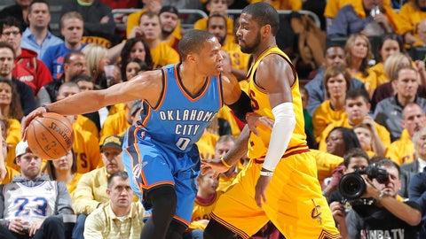Cleveland Cavaliers vs. Oklahoma City Thunder: +10400 (104/1)