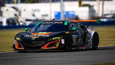 No. 86 Michael Shank Racing Acura NSX GT3 - GTD