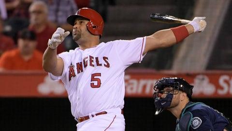 Los Angeles Angels: Albert Pujols, DH/1B (37)