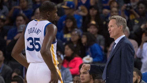 Steve Kerr is making the right call