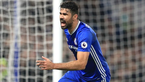 Chelsea: Diego Costa to China