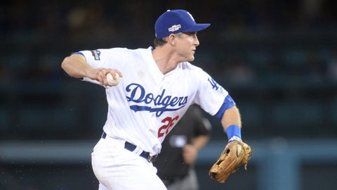 Dodgers: Chase Utley