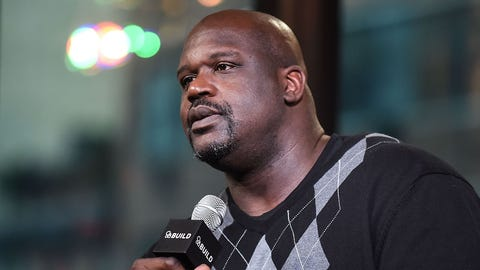 Shaquille O'Neal owned the Ferrari during his time with the LA Lakers. (Photo by Daniel Zuchnik/WireImage)
