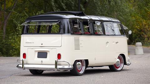 1965 Volkswagen Type II 21-window Deluxe Bus