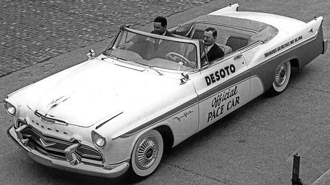 1956 DeSoto Indianapolis 500 pace car