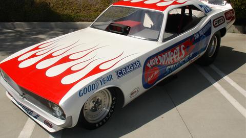 1972 Plymouth Barracuda Funny Car