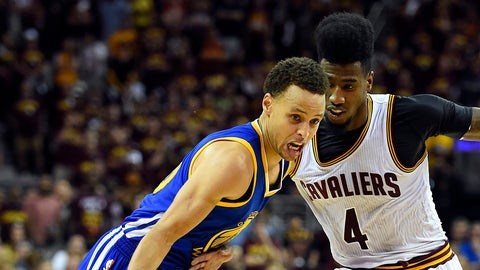 Beat up Stephen Curry