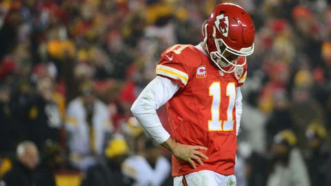 Alex Smith to 'embrace' relationship with Mahomes