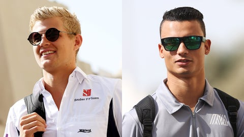Sauber - Marcus Ericsson and Pascal Wehrlein