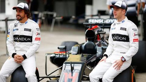 McLaren - Fernando Alonso and Stoffel Vandoorne