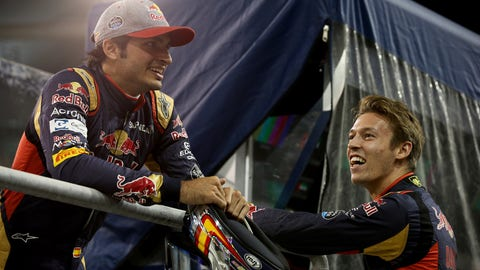 Toro Rosso - Carlos Sainz and Daniil Kvyat