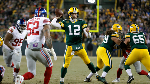 The Packers don't turn the ball over