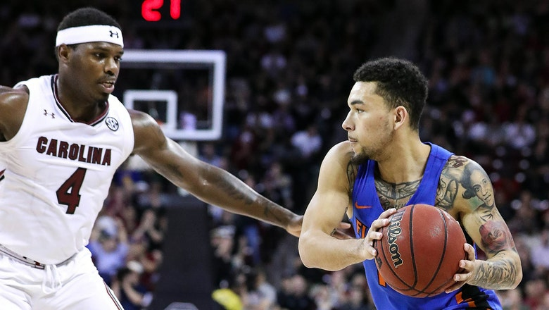 Florida's 3-point streak comes to an end in loss to South Carolina