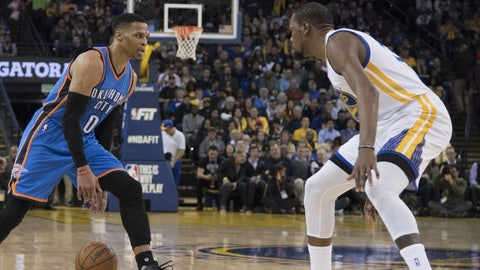 Russell Westbrook vs. Kevin Durant