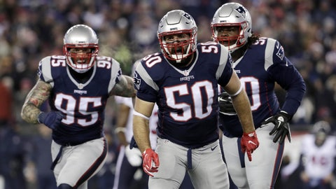 The Patriots' run defense