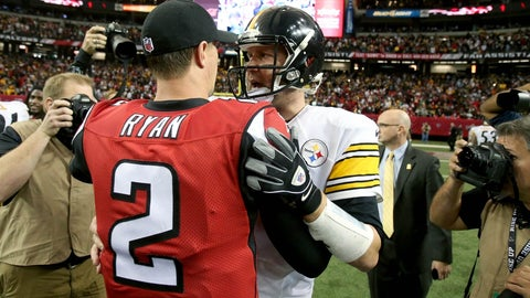 STEELERS vs. FALCONS: +375 (15/4)