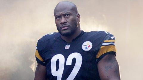 James Harrison, OLB, Steelers/Bengals (2002-present)