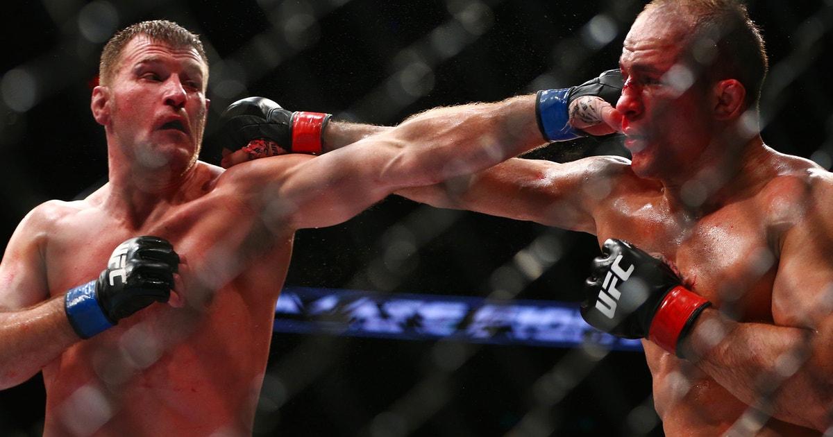 Stipe Miocic vs. Junior Dos Santos 2 booked for UFC 211 in Dallas