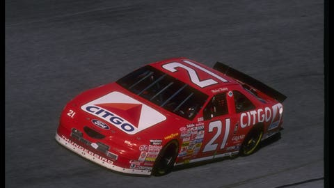 1996-1998 with Wood Brothers Racing