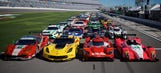 Starting lineup for the Rolex 24