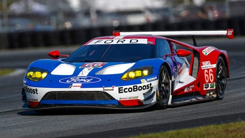No. 66 Ford Chip Ganassi Racing Ford GT - GTLM