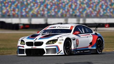 No. 24 BMW Team RLL BMW M6 GTLM - GTLM