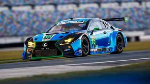 No. 15 3GT Racing Lexus RCF GT3 - GTD