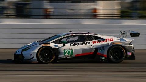 No. 27 Dream Racing Motorsport Lamborghini Huracan GT3 - GTD