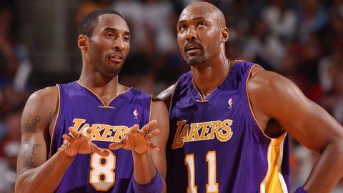Kobe Bryant vs. Karl Malone