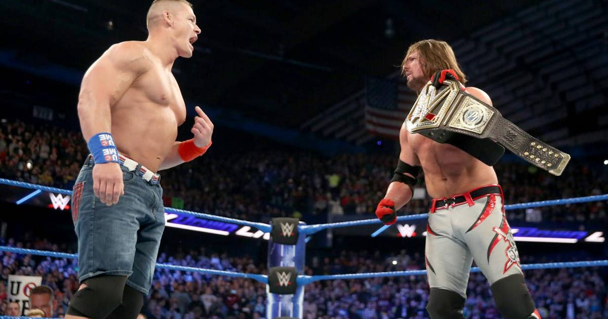 WWE Royal Rumble 2017: John Cena Should Not Tie Ric Flair's World Title Record Yet