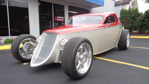 1933 Ford Speedstar custom coupe