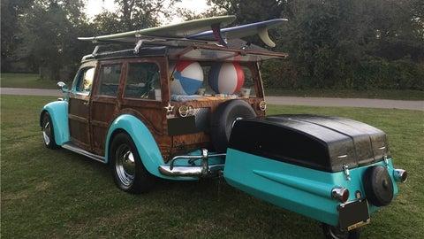 1964 Volkswagen Beetle Woody Wagon