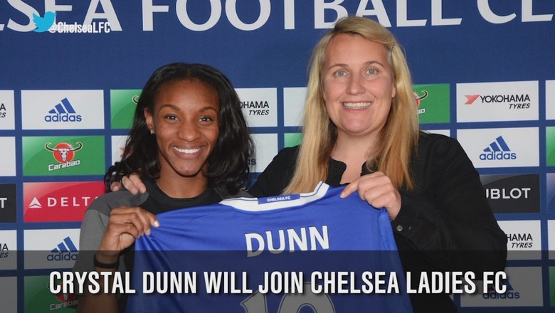 Crystal Dunn joins Chelsea Ladies FC