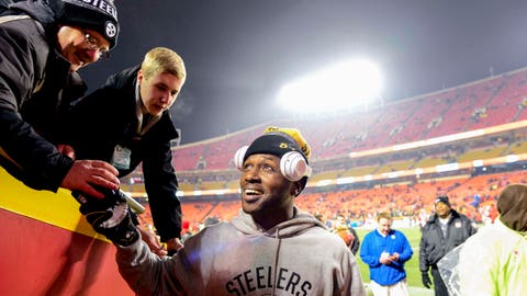 """Antonio Brown: """"I wanted to share that moment with the fans."""""""