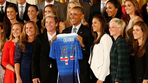 2015 US Women's Soccer Team