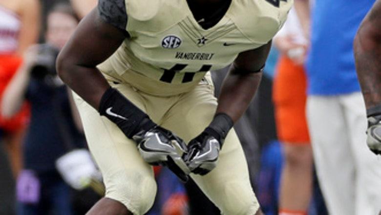 Vanderbilt linebacker Zach Cunningham entering NFL draft