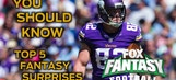Top 5 Fantasy Football Surprises From 2016