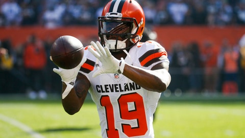 Corey Coleman could be out until training camp after falling on football