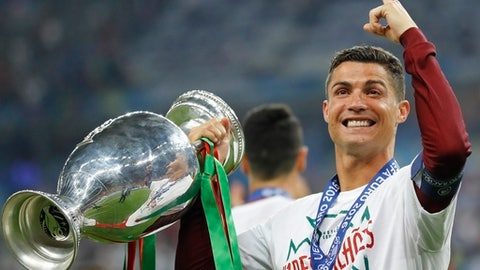 T-8. Cristiano Ronaldo, Real Madrid ($31.9 million)