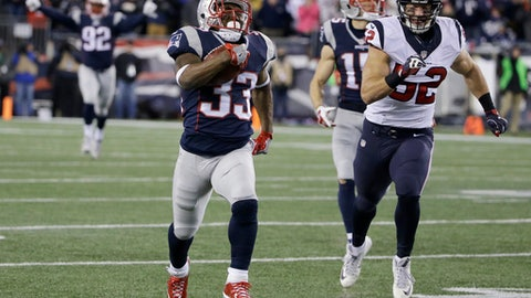 Divisional Round: Dion Lewis strikes three times