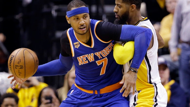 Knicks hold off Pacers' late charge for 109-103 victory (Jan 23, 2017)